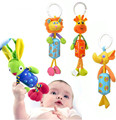 Lion elephant rabbit bells hang ring lathe Baby toys Babies Toys Infant