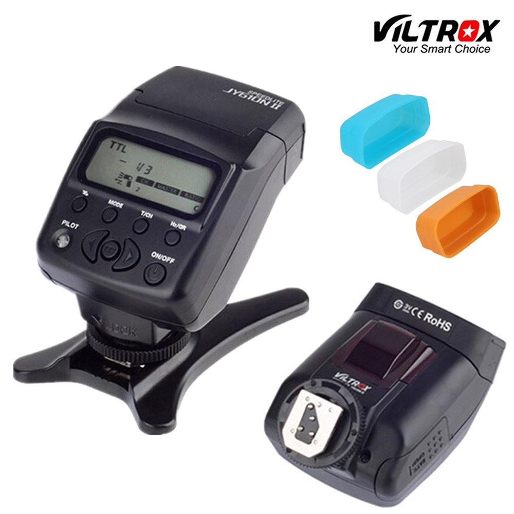 Viltrox JY-610NII TTL LCD Speedlite Flash de la cámara para Nikon D700 D800 D810A D3100 D3200 D5500 D5600 D7500 D7200 D500 D5 D90 D610