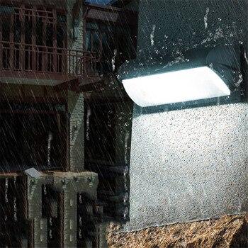 BEIAIDI 18W PIR Motion Sensor Waterproof Garden Porch Wall Light Outdoor Aisle Corridor Gate Wall Lamp Villa Balcony Sconce