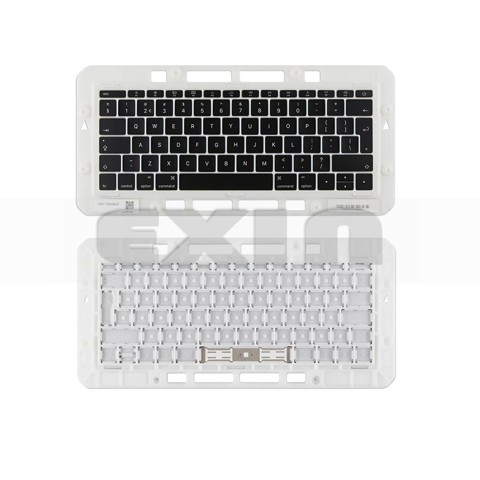 """Image 4 - Genuine for Macbook Pro Retina 13"""" 15"""" A1706 A1707 A1708 Russian Russia RU Keyboard Keys Key Cap Keycaps Late 2016 Mid 2017-in Replacement Keyboards from Computer & Office on"""