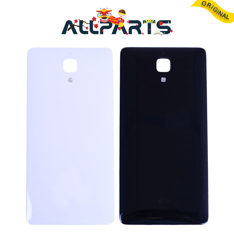 New Glass New Housing For Xiaomi 4 mi4 Back Cover Case Battery Rear Door For Xiaomi mi4 Battery Cover