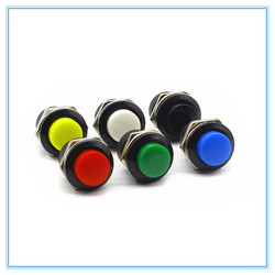 16mm Momentary Push Button Schalter Momentary taster schalter 6A/125VAC 3A/250VAC Runde Schalter
