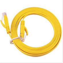 CAT6 Gigabit Catégorie 6 Réseau Câble 5G câble plat Multi-brin De Cuivre Cavalier Routeur Câble BXZ04