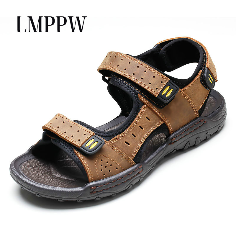 Mens Sandals 2018 New Summer Mens Beach Sandals High Quality Breathable Classics Men Sandals Casual Shoes Zapatos Hombre