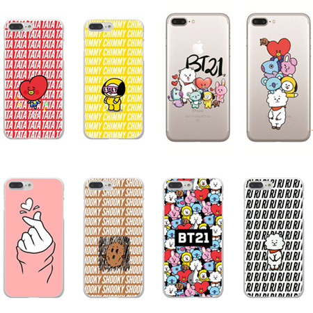 Half-wrapped Case Phone Case Cover Bts Korea Bangtan Boys Young Forever Bt21 Tpu Soft Silicone For Iphone 5 5s Se 6 6s Plus 7 7 Plus X 10 8 8 Plus