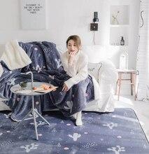 лучшая цена Infant Shining Baby Play Mats Children Cartoon Carpet Suede Large Rugs Living Room Children Crawl Bedroom Thicking Blanket M