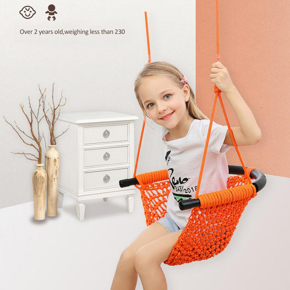 Children's Toy Rope Net Indoor And Outdoor Family Baby Hanging Chair Swing Infant Outdoor Hanging Chair Child Toy Swing