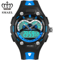 Children Favorite Watch Cool Special Resent Gift For Boy Gilrs Blue Birthday Dual Display Multi-function Cometable Safe 1339