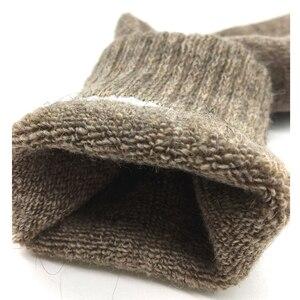Image 3 - 5 пар/партия, мужские шерстяные носки