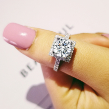 925 sterling silver Moonso Rings 3 Carat for Women Wedding Engagement Jewelry anel aneis anillos O Pure b1 R213A цена