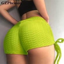 Women Short Sexy Fitness Leggings Plus Size Cotton Knitted Short Gym Clothing Workout Leggings Fitness Feminina Push Up Leggings