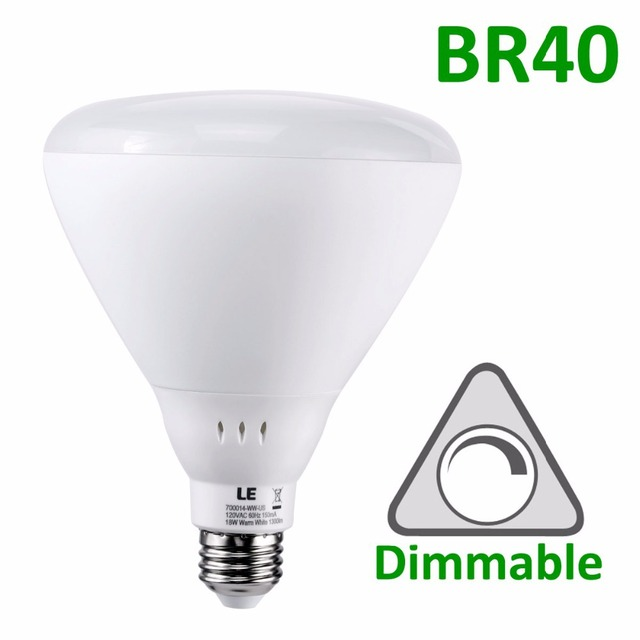 Le 18w dimmable br40 e26 led bulb 100w incandescent bulbs le 18w dimmable br40 e26 led bulb 100w incandescent bulbs equivalent warm white mozeypictures Choice Image