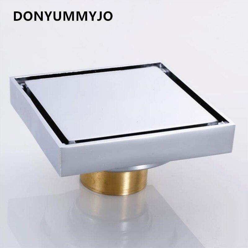 DONYUMMYJO 1PC Copper Floor Drain Invisible Black Ancient European Deodorant Core Copper Floor Drain