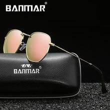 BANMAR Luxury Mirror Sunglasses Women/Men Brand Designer Glasses Lady Round Sun Glasses Street Beat Oculos De Sol Gafas