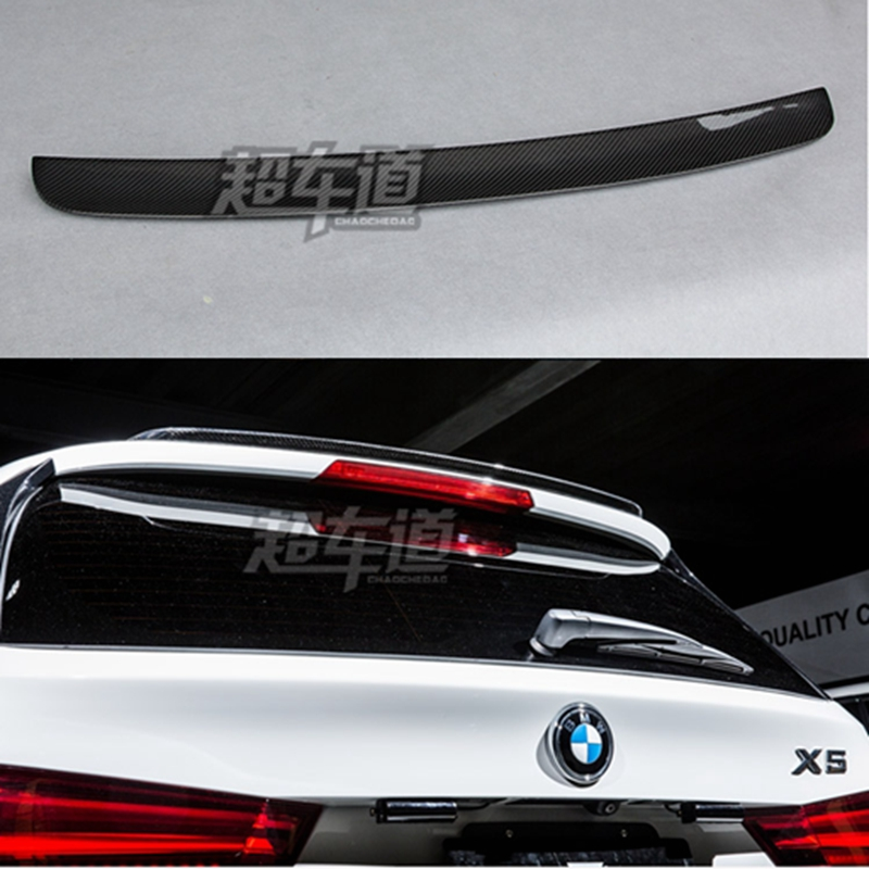 F15 X5 Carbon Fiber Rear Wing Spoiler for BMW F15 X5 2015 2016 2017 Auto Racing Car Styling Tail Boot Lip Wing car styling carbon fiber auto rear wing spoiler lip for vw scirocco 2010 2012