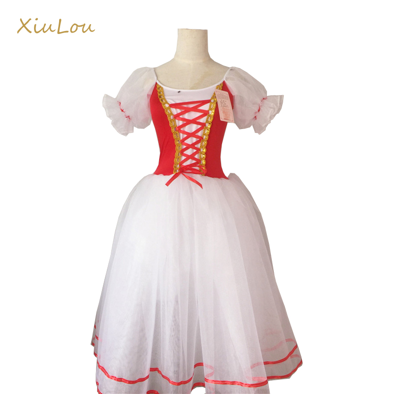 ballerina modern dance costume chorus ballet dress for girls adult costume professional ballet costume women