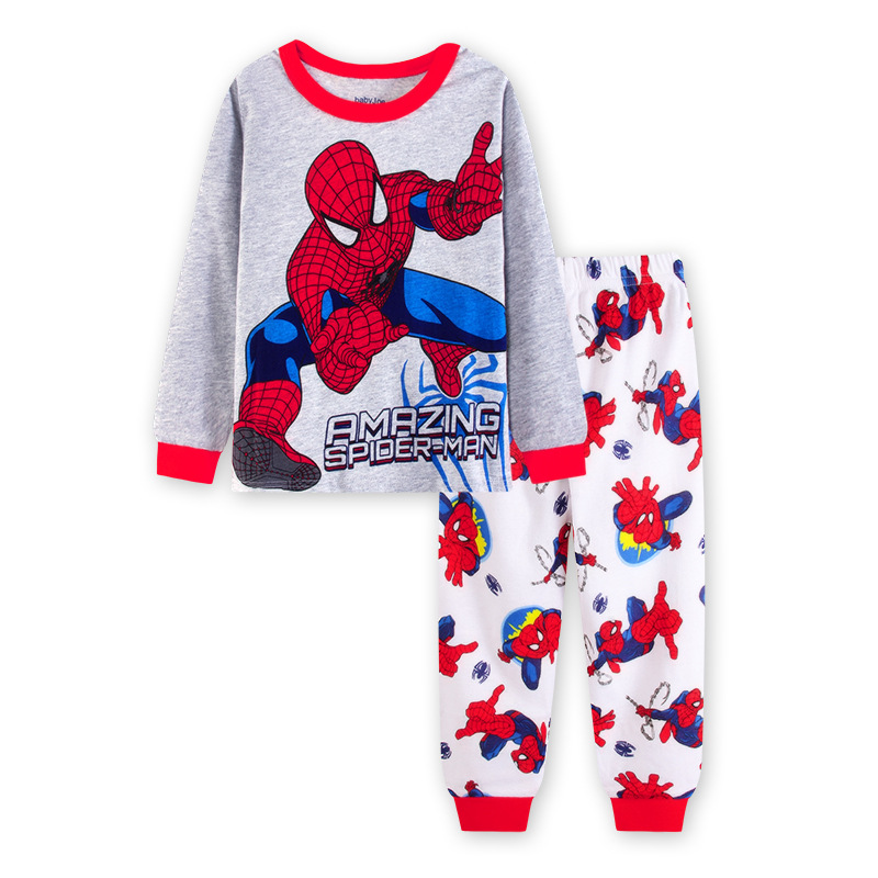 Boys Pajamas Set Kids Cartoon Sleepwear Fancy Dress Costume Nightwear Clothing