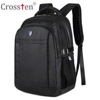 Crossten Swiss Military Army Travel Bags Laptop Backpack 16 Multifunctional Schoolbag Waterproof Urban Notebook Computer Bag
