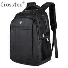 Crossten Swiss Military Army Travel Bags Laptop Backpack 16″ Multifunctional Schoolbag Waterproof  Urban Notebook Computer bag