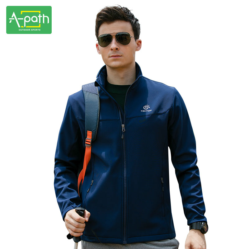 Men Spring Autumn Winter Softshell Outdoor Sport Camping Hiking Jacket Hunting Clothing Clothes Waterproof Windproof Jacket XXXL