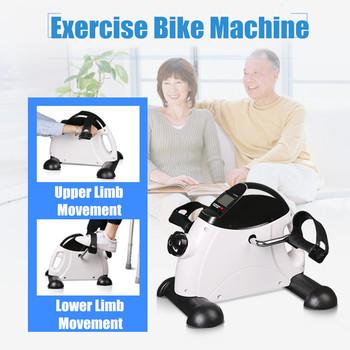 Wyświetlacz LED Home Exerciser Fitness pedał rower ćwiczenia kryty trener Exerciser kolarstwo Fitness mały pedał ramiona nogi fizyczne tanie i dobre opinie Exercise Bike Machine
