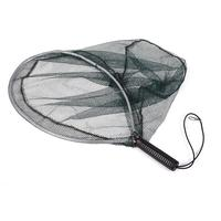 LumiParty Fishing Net Fishing Accessories Catch And Release Landing Net Aluminum Hoop Dip Net With Nylon