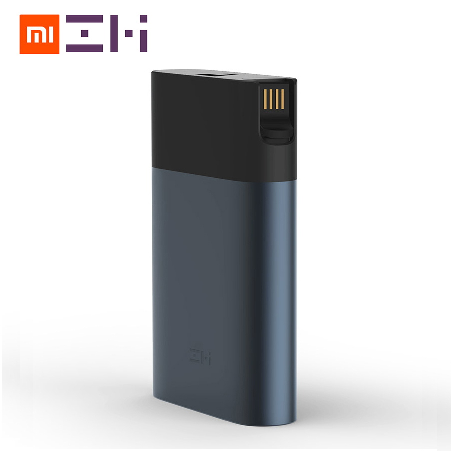 Original Xiaomi ZMI 4G Wifi Router 10000 MAh Power Bank 3G 4G LTE Mobile Hotspot 10000mAh