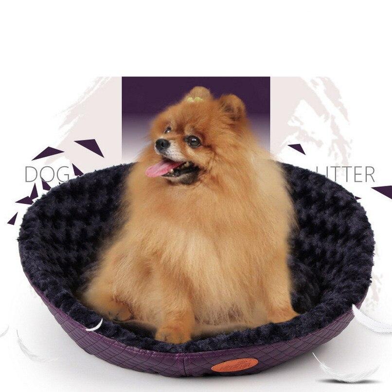 De alta Calidad cama Del Perro Mascota Nido Casa Esteras Camas camas para perros