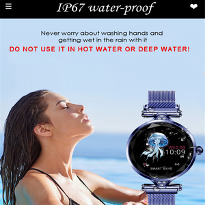 Image 4 - Greentiger  Lady Fashion H1 Smart Watch Women Bluetooth Waterproof  Heart Rate Monitor Fitness Tracker Smartwatch  Bracelet