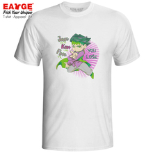 Rohan Kishibe T shirt JoJo Bizarre Adventure Golden Wind Popular font b Anime b font Punk