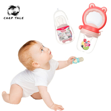 1Pcs Kid Nipple Feeding Safe Baby Supplies Baby Pacifier Fresh Food Milk Fruit Feeder Nipple Teat Pacifier Bottles For Baby Feed