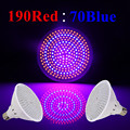 E27 26W 190Red:70Blue 260 SMD 110V/220V LED Grow Light Lamp For Flowering Plant Hydroponics System Free Shipping