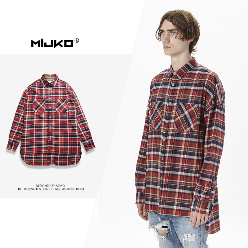 MIJKO Ανδρικά Ρούχα 2018 Φθινόπωρο Νέο - Ανδρικός ρουχισμός - Φωτογραφία 3