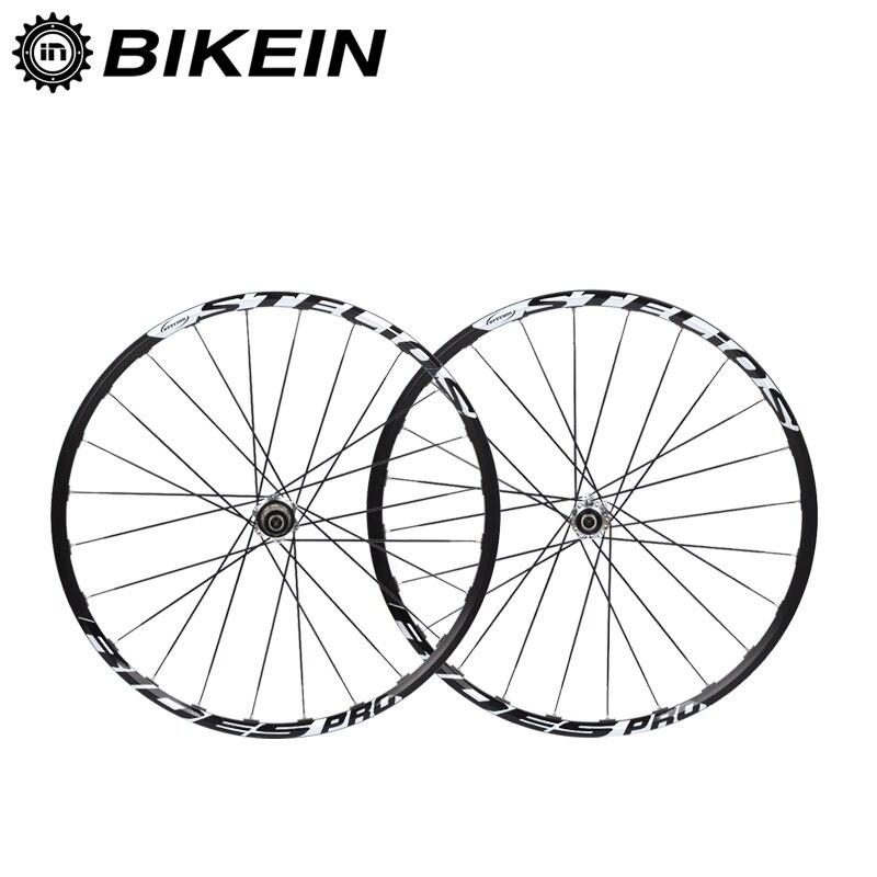 BIKEIN 9/10/11 vitesse frein à disque VTT roues 14G rayons jante en aluminium 26/27. 5