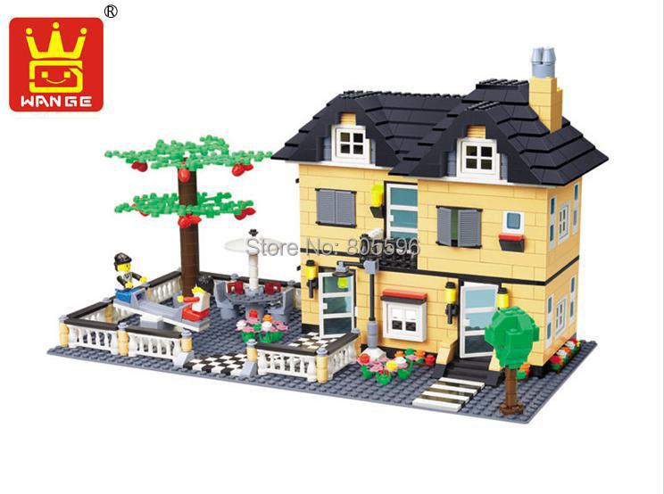 ФОТО 34053 without original box Enlighten Building Block Set 3D  Construction Brick Toys Educational Block toy  compatible with