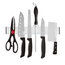 Магнитный самоклеющийся держатель для ножей длиной 31 см из нержавеющей стали 304 блок магнитный держатель для ножей стойка для ножей