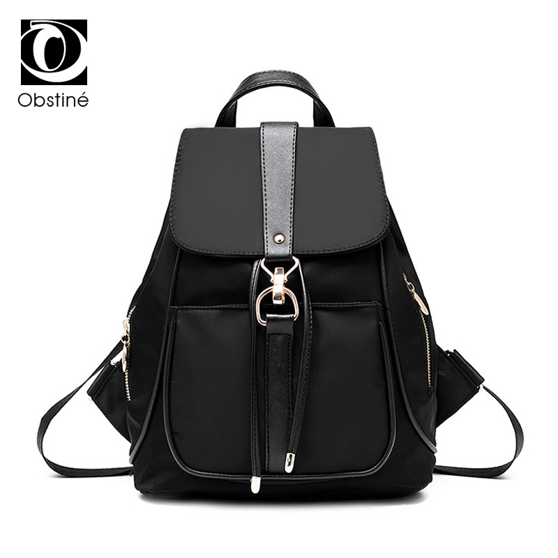 Women Backpacks Waterproof Nylon School Bags Anti Theft Backpack Female Travel Bag Ladies Back Pack Schoolbag for Teenagers Girl цена