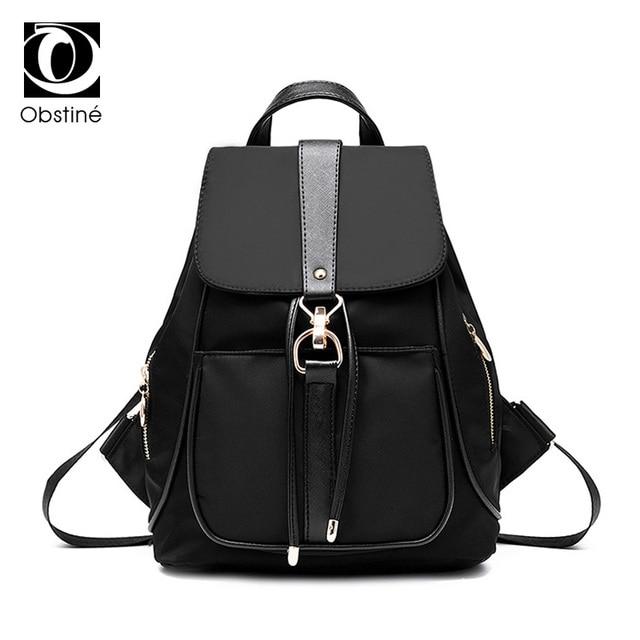 a91b84ebb6 Women Backpacks Waterproof Nylon School Bags Anti Theft Backpack Female  Travel Bag Ladies Back Pack Schoolbag