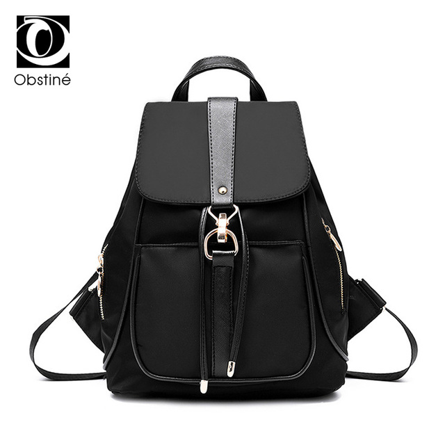 e188599e1a0b Women Backpacks Waterproof Nylon School Bags Anti Theft Backpack Female  Travel Bag Ladies Back Pack Schoolbag