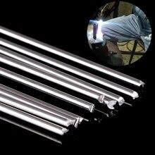 10 шт. Серебряный алюминиевый сварочный стержень низкотемпературные металлические паяльные стержни 1,6 мм x 45 см с коррозионной устойчивостью