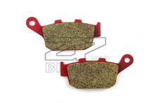 Motorcycle parts Brake Pads Fit HONDA NSR 250 RL/RN/RSP 1995- CBR 250 RH 1987 Rear OME Red Ceramic Composite Free shipping