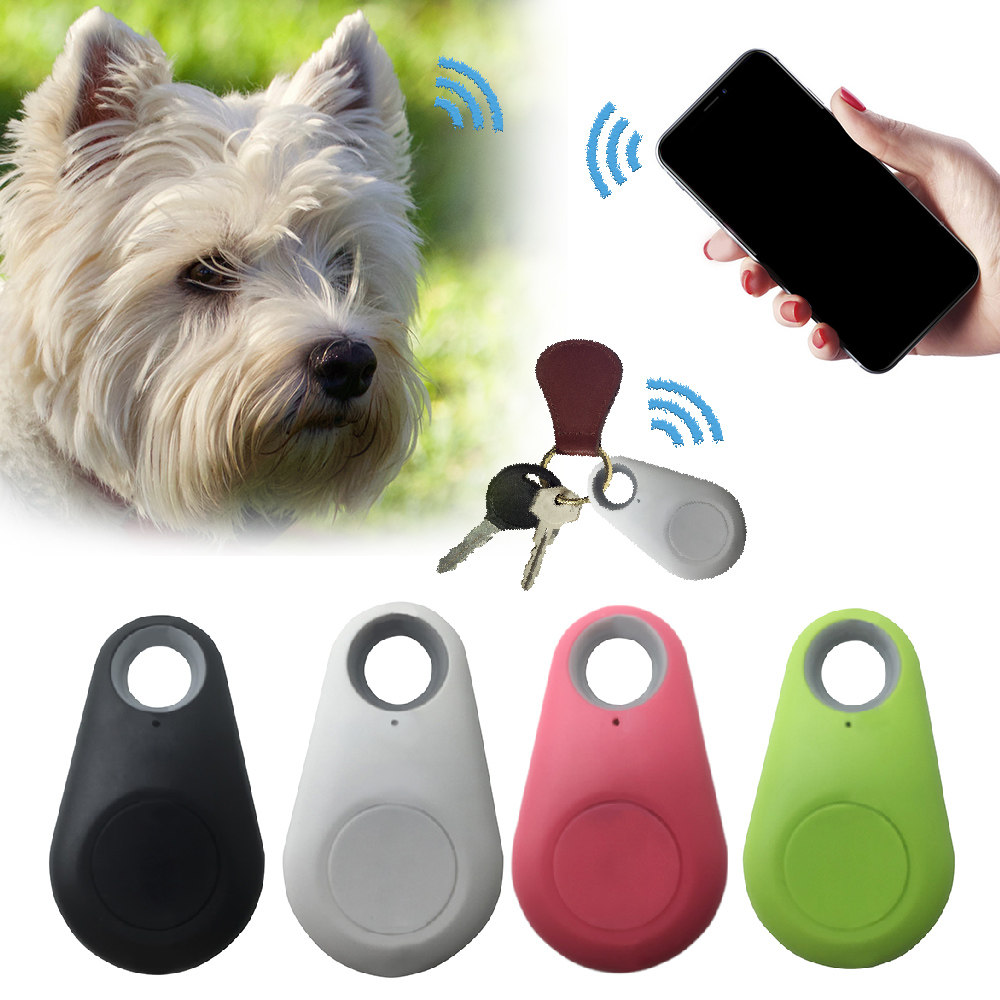 Wallet Bag Kids Trackers Finder 1pc Pets Smart Mini GPS Tracker Anti-Lost Waterproof Bluetooth Tracer For Pet Dog Cat Keys 1