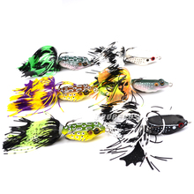 6pc PRO BEROS Brand Frog Lure High Quality Fishing Bait 6 colors fishing lures 2″-5.08cm/0.27oz-7.68g fishing tackle