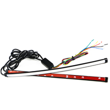 45cm Switchback Car DRL LED Knight Rider Light Strip Tube Sequential Turn Signal