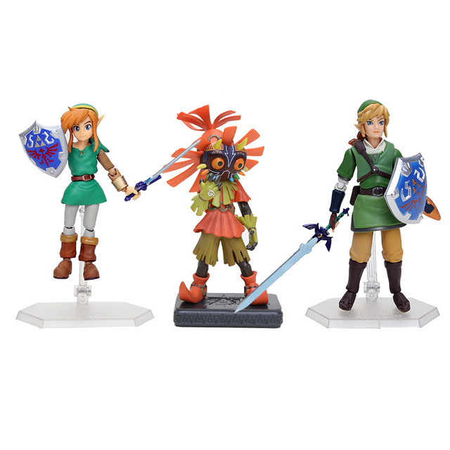 Legend of Zelda Majora's Mask 3D PVC Action Figure Toy
