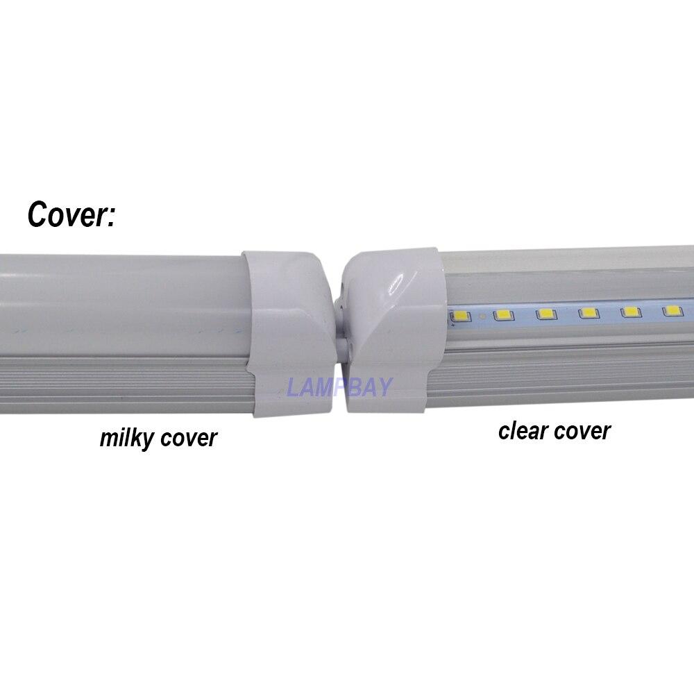 """4-100/pack Dimmable LED Tube Light 4ft 1.2m 48"""" 20W 24W T8 Integrated Bulb Fixture Dimming Lamp Linear Bar Lighting 110V 220V"""