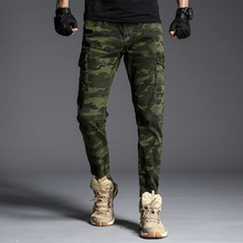 Mens Joggers Track Pants Cargo Men Tactical Camo Overalls Military Fashions Camouflage Trousers Clothes Streetwear