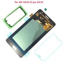 Купить онлайн FIX2SAILING 100% тестирование работы AMOLED ЖК-дисплей Дисплей Сенсорный экран сборки для Samsung Galaxy J3P J3110 J3 Pro J3119