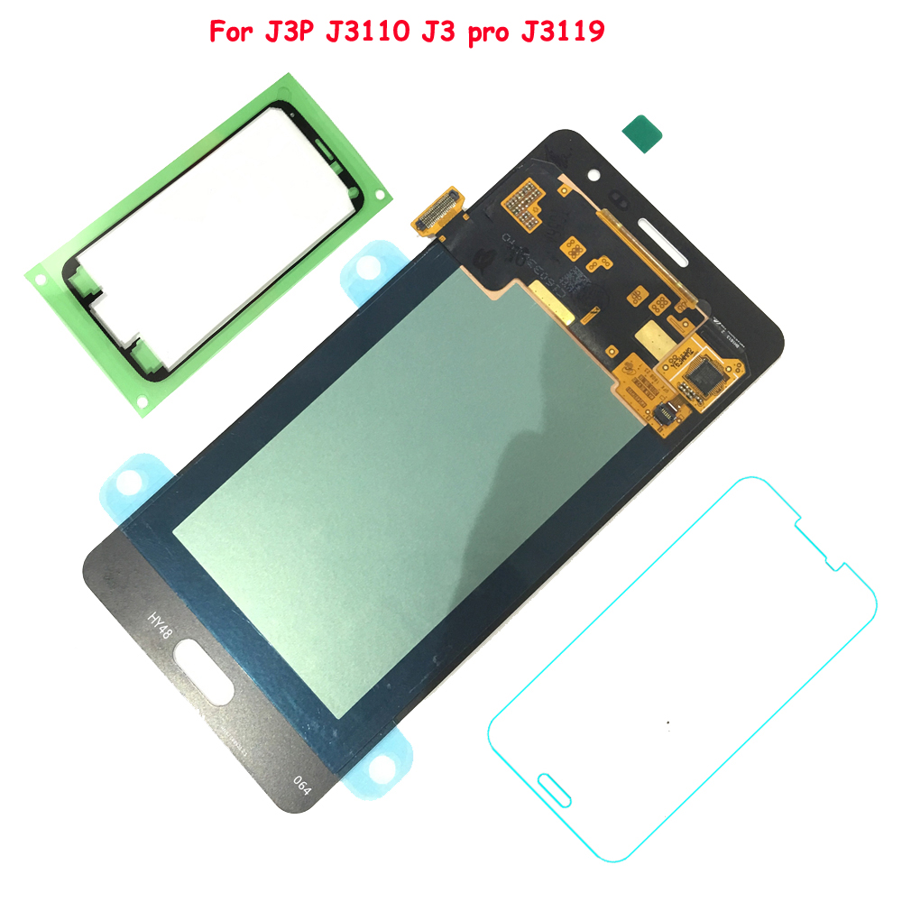 FIX2SAILING 100% Tested Working AMOLED LCD Display Touch Screen Assembly For Samsung Galaxy J3P J3110 J3 pro J3119