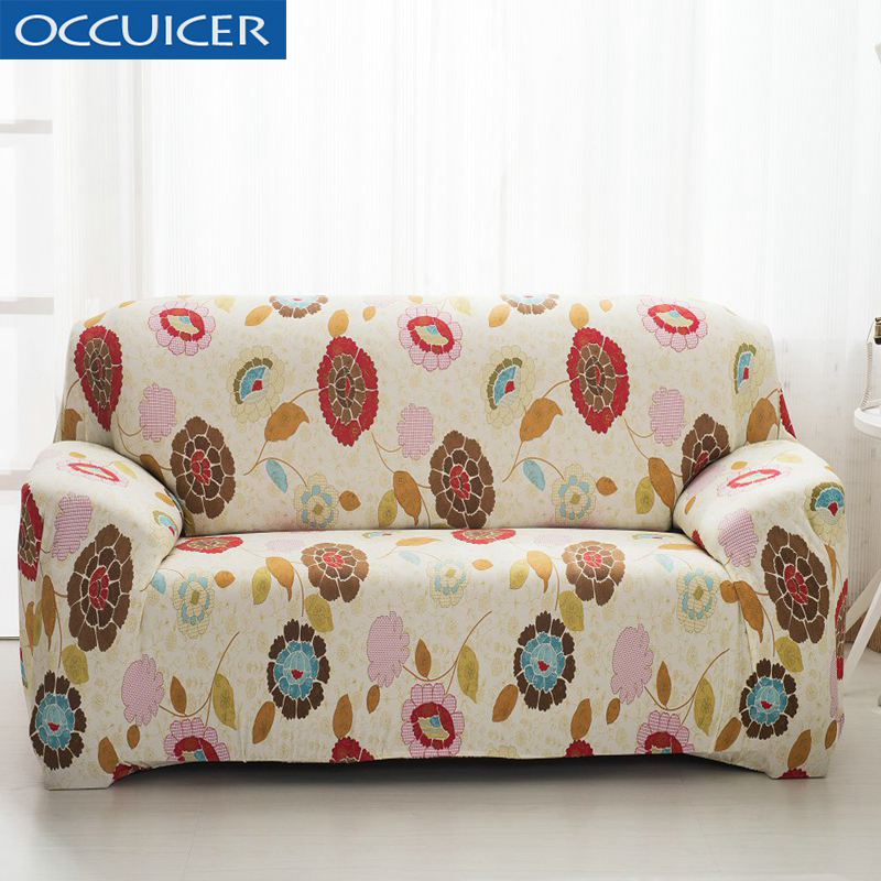 Outstanding Us 17 85 49 Off Jacqured Stretch Chaise Sofa Cover Elasticity Flexible Printed Couch Loveseat Protetor Funiture Design Canape Armchair Covers In Pabps2019 Chair Design Images Pabps2019Com